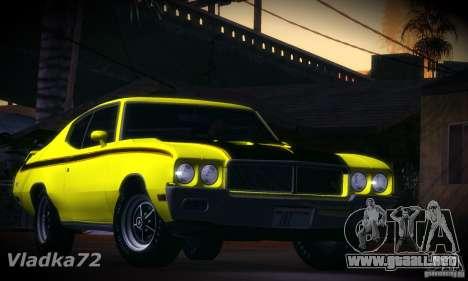 Buick GSX 1970 v1.0 para GTA San Andreas left