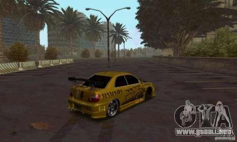 NFS Most Wanted - Paradise para GTA San Andreas tercera pantalla