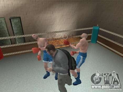 El sistema de combate de GTA IV para GTA San Andreas