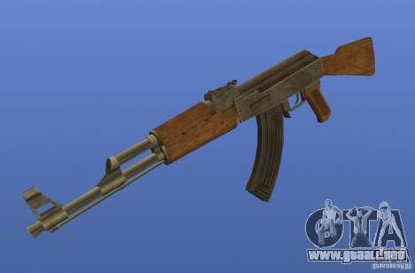 Weapon Textures para GTA 4 adelante de pantalla