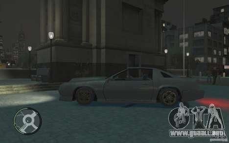 Buffalo IV para GTA 4 left