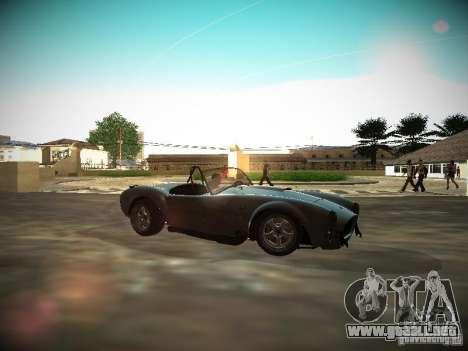 Shelby Cobra para GTA San Andreas left