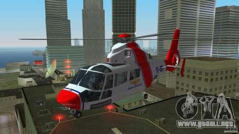 Eurocopter As-365N Dauphin II para GTA Vice City left