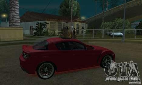 Luces de neón rojo para GTA San Andreas