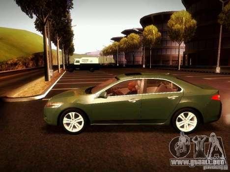 Acura TSX para la visión correcta GTA San Andreas