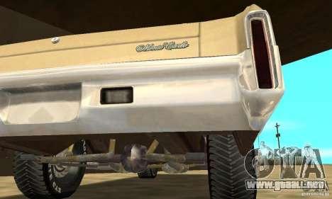 Chevy Monte Carlo [F&F3] para vista lateral GTA San Andreas