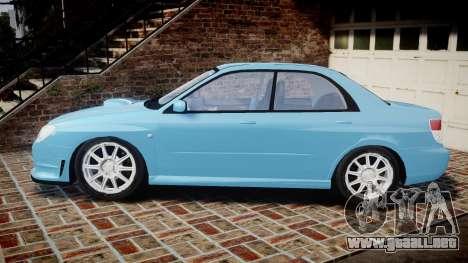 Subaru Impreza WRX STI Spec C Type RA-R 2007 para GTA 4 left