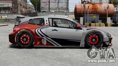 Volkswagen Scirocco BTCS MkIII 2010 para GTA 4 left