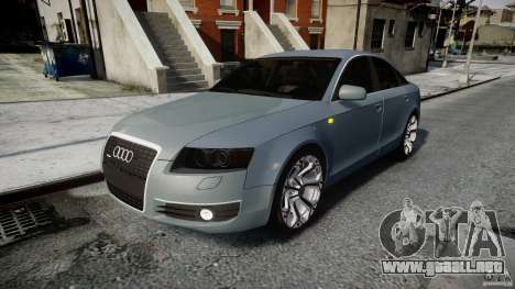 Audi A6 TDI 3.0 para GTA 4