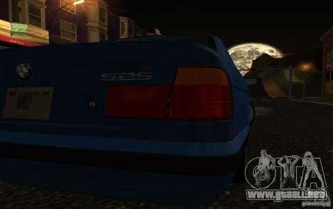 BMW 525 E34 V.3 para la visión correcta GTA San Andreas