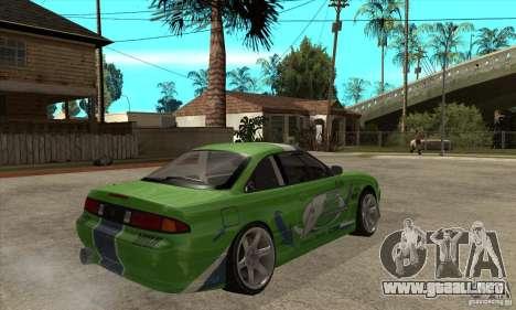 Nissan Silvia S14a JardinE Drift para la visión correcta GTA San Andreas
