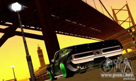 Shelby GT500 Monster Drift para GTA San Andreas