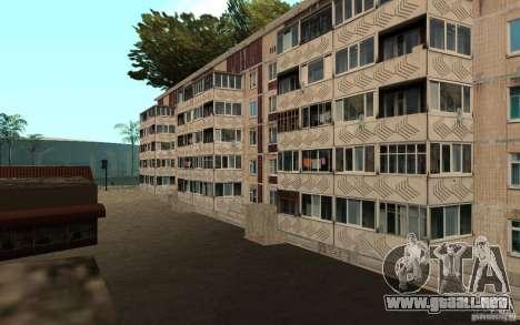 Un pequeño pueblo ruso en Grove Street para GTA San Andreas