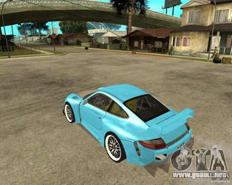 Porsche 911 Turbo Grip Tuning para GTA San Andreas left