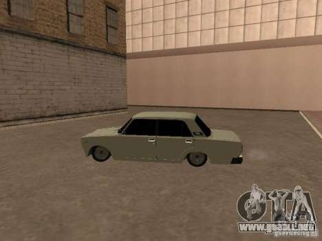 VAZ 2107 roto para la visión correcta GTA San Andreas