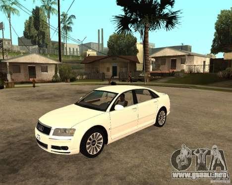 Audi A8 2003 para GTA San Andreas