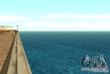 Agua nueva textura para GTA San Andreas segunda pantalla