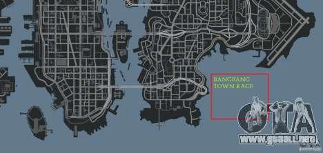 BangBang Town Race para GTA 4 décima de pantalla
