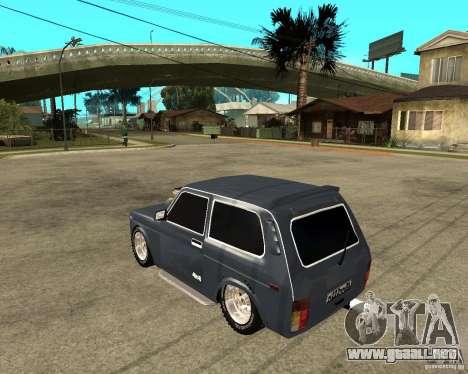 NIVA Mustang para GTA San Andreas left