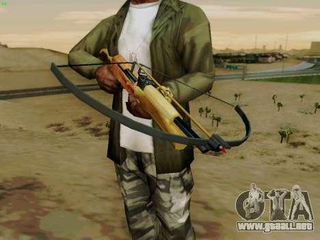 Una trabajo ballesta con flechas para GTA San Andreas