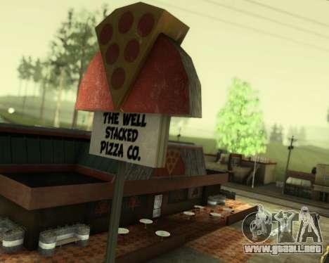 SA_NVIDIA v1.0 para GTA San Andreas sucesivamente de pantalla