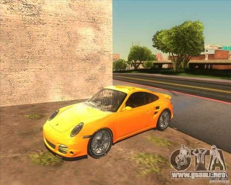 Porsche 911 Turbo (997) 2007 para GTA San Andreas