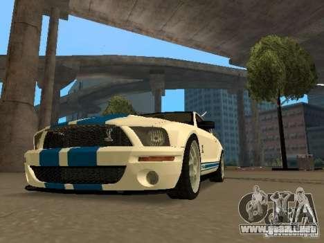 Ford Mustang GT para GTA San Andreas left