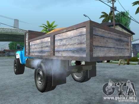 Camión ZIL 130 para GTA San Andreas left