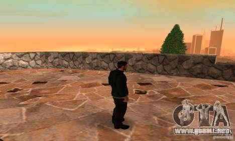SAM FISHER para GTA San Andreas sexta pantalla