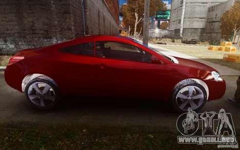 Pontiac G6 para GTA 4 vista interior