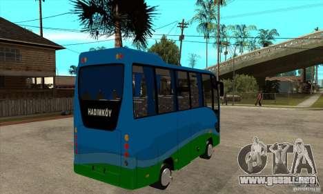 Iveco Eurocity para la visión correcta GTA San Andreas