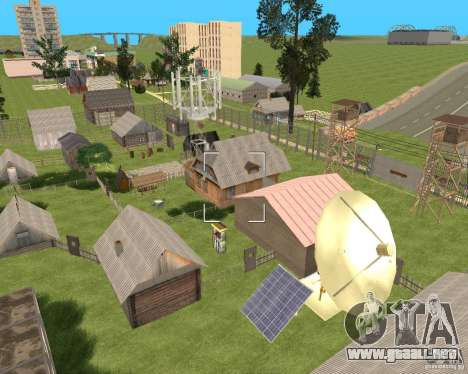 Base Gareli para GTA San Andreas