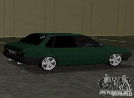 VAZ 2109 Tuning v2.0 para GTA Vice City left