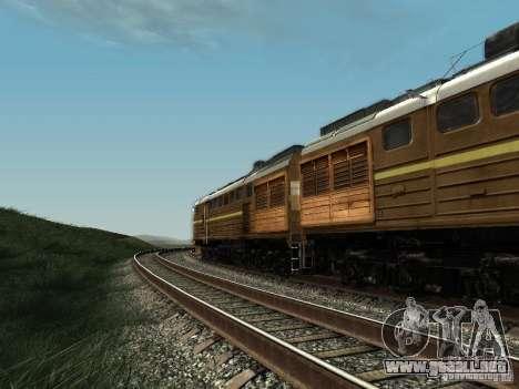 2TE10U-0137 para GTA San Andreas vista posterior izquierda