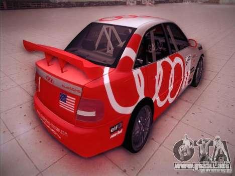 Audi S4 Galati Race para la visión correcta GTA San Andreas