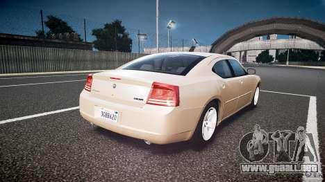Dodge Charger RT Hemi 2007 Wh 1 para GTA 4 vista lateral