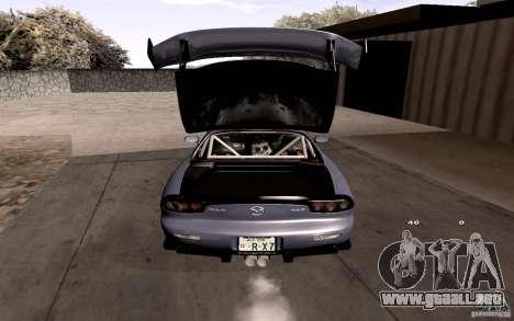 Mazda RX-7 Hellalush para el motor de GTA San Andreas