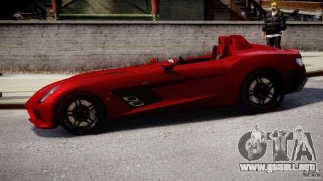Mercedes-Benz SLR McLaren Stirling Moss [EPM] para GTA 4 left