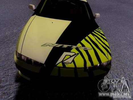 Nissan Silvia S14 Matt Powers v3 para la vista superior GTA San Andreas