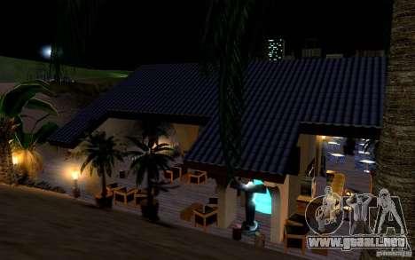 Club de playa para GTA San Andreas sexta pantalla