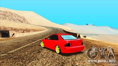 Lexus IS300 para la visión correcta GTA San Andreas