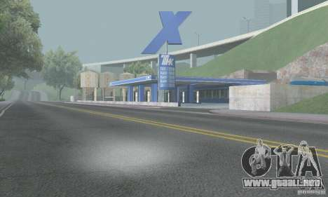 TNC-TNC combustible nuevo Trailer para GTA San Andreas segunda pantalla