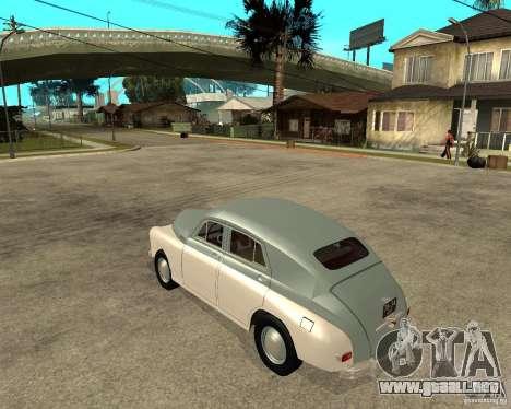 GAZ M20 Pobeda para GTA San Andreas left
