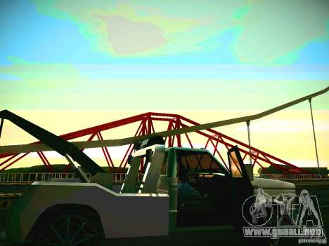 Towtruck tuned para GTA San Andreas left