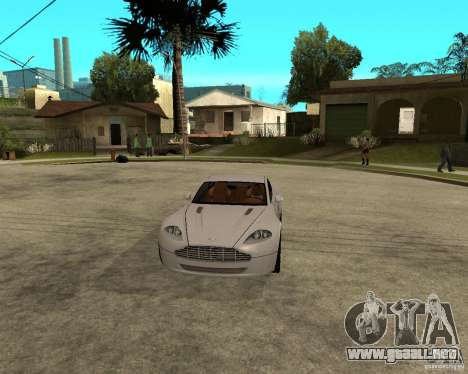 Aston Martin VANTAGE concept 2003 para GTA San Andreas vista hacia atrás