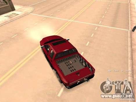 Dodge Ram 2010 para visión interna GTA San Andreas