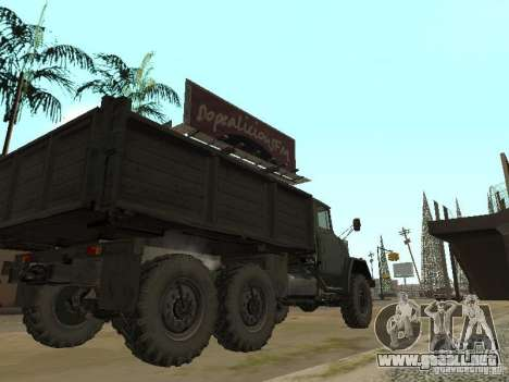 ZIL 131 camión para la visión correcta GTA San Andreas