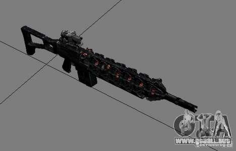 Un conjunto de armas de acosador V3 para GTA San Andreas quinta pantalla