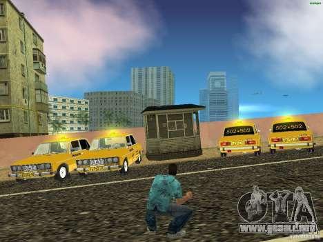 2106 VAZ Taxi v 2.0 para GTA Vice City visión correcta
