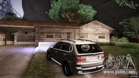 BMW X5 with Wagon BEAM Tuning para el motor de GTA San Andreas